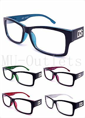 5685b1b27e69 NEW DG CLEAR Lens Rectangular Frames Glasses Optical RX Womens & Mens  (#5568) - $7.35 | PicClick