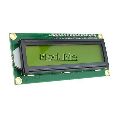 NEW LCD1602 3.3V Yellow Backlight 16*2 Lines White Character LCD module 1602A MO