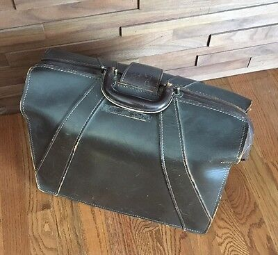 Vintage Leather Bag Doctor,, Carry Case