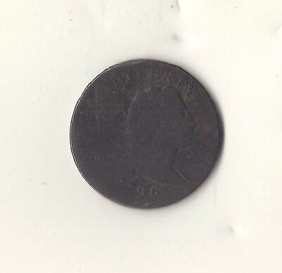 1796  Liberty Cap  Large Cent    Good