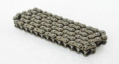 "Precision 40# Roller Chain 08B-1 Pitch 12.7mm 1/2"" Roller Chain x 1.5 Meters"