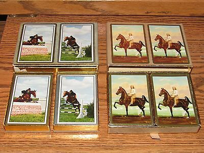 Vintage Congress Jockey Horse Racing Girl Playing Cards All Complete Derby