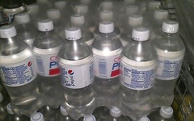 Crystal Pepsi 24 Pack 20 Oz Bottles Clear Soda Pop Expires 2017 Factory Sealed