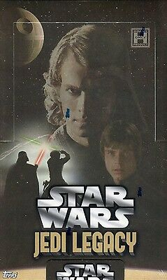 Star Wars Jedi Legacy Sealed Wax Box Cards Card 24 Packs Topps 2013