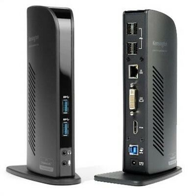 USB Docking Station, by Kensington, (USB 3.0 DOCKING STATION with DVI/HD)