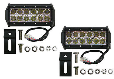 Pair of 6 Inch 36W Cree LED Spot Light Bar For a SUV ATV Truck