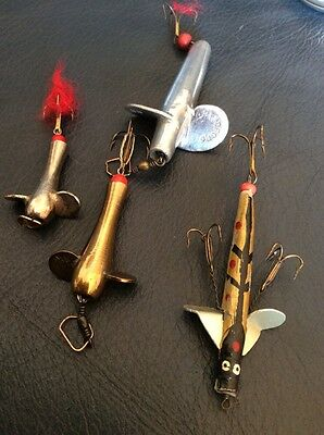 Group Of Vintage Fishing Lures.