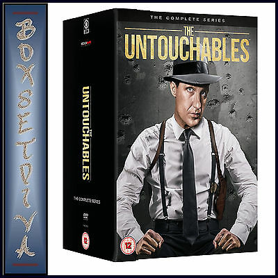 The Untouchables - Complete Series - Seasons 1 2 3 & 4 *Brand New Dvd Boxset*Uk