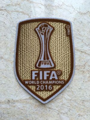 Real Madrid FIFA Club World Cup 2016 Patch Badge FIFA WORLD CHAMPIONS