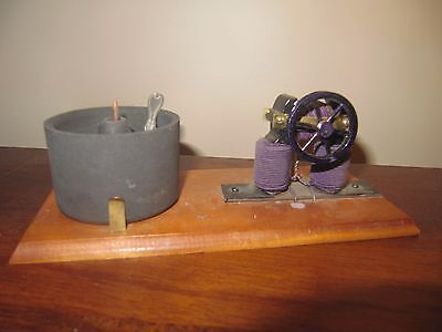 antique toy 1800s science electric motor
