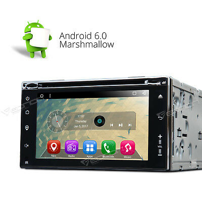 GA2160 Android 6.0 Double DIN Car Dash DVD Player GPS Bluetooth BT/3G/USB/NAVI I