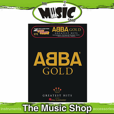 New EZ Play #272 ABBA Gold Greatest Hits Piano Music Book -  Easy Play E-Z