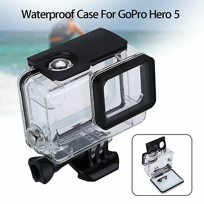 Underwater 45M Protector Housing Case for GoPro Hero 5 6 7 Black Action Camera