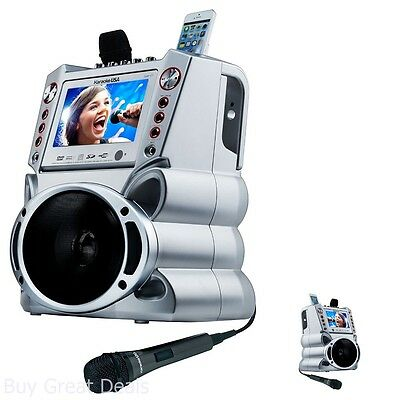 Karaoke USA Machine System with 7-Inch TFT Digital Color Screen Record Function