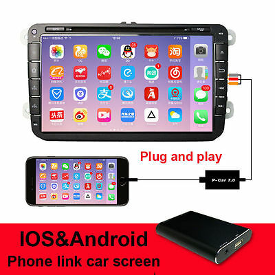 CAR Audio/Video Display Miracast Airplay Box for Android IOS iPhone 6 6s 7 Plus