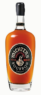 Michters 10 Year Old Single Barrel Kentucky Bourbon Whiskey 700ml
