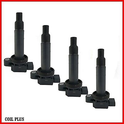 4 x Ignition Coil for Toyota Echo Prius Yaris 1.3L 1.5L 1NZ-FE 2NZ-FE