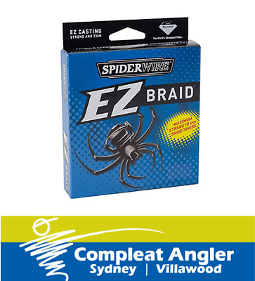 Spiderwire EZBraid 300m 15lb Braid Fishing Line BRAND NEW At Compleat Angler