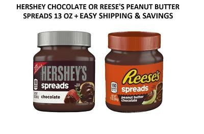 Hershey's Chocolate Spread Or Reeses Peanut Butter Spread Pick One Free Shipping