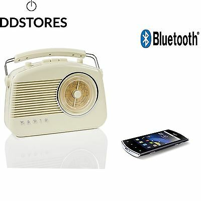 König HAV TR800BE Portable Beige Radio portable Radios portables AM FM 3 5...