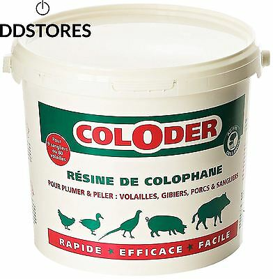 Action Pin Coloder Résine de Colophane 3 5 kg