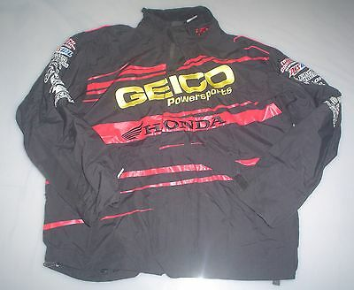 '10 GEICO HONDA FACTORY CONNECTION FOX RACING TEAM ONLY JACKET L supercross mx