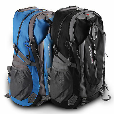 40L Waterproof Camping Hiking Backpack Outdoor Sport Travel Rucksack Bag UK