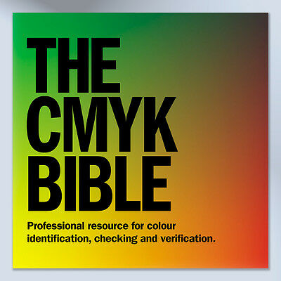 CMYK Colour Swatch Book for Creative, Graphic Design, Branding, Advertising