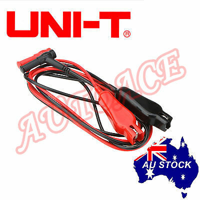 UNI-T Automotive Multimeter Insulation Alligator Test lead UT-L19 1000V 10A AU