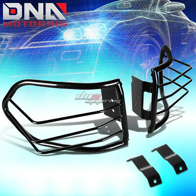 For 07-12 Fj Cruiser Suv Black Coated Steel Tail Light/lamp Cage Guard+Mounting
