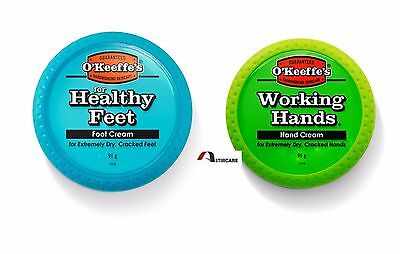 O'Keeffe's Working Hands Hand Foot Cream Cracked Split Skin Non-Greasy