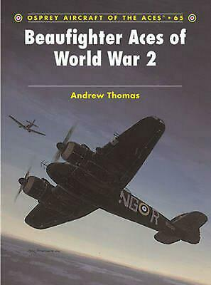 Beaufighter Aces of World War 2 by Andrew Thomas (English) Paperback Book Free S