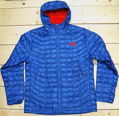 THE NORTH FACE THERMOBALL HOODIE - PRIMALOFT lightweight MEN'S JACKET - size L