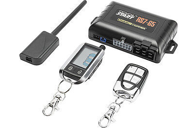 Crimestopper Rs7-G5 2-Way Lcd Remote Start Keyless Entry Trunk Release System