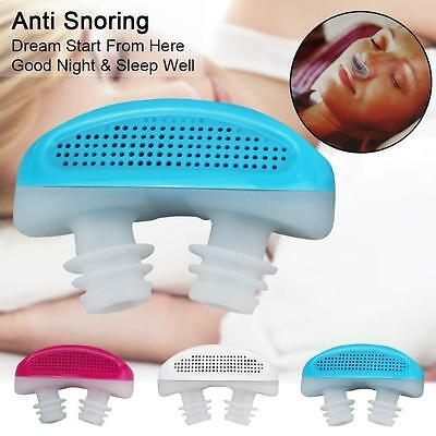 Snore Nose Stop Snoring Apnea Guard Care Sleeping Aid Device Relieve Snoring FF