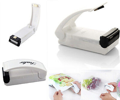 IN STOCK! Mini Portable Sealing Heat Handheld Plastic Bag Impluse Sealer Tool US