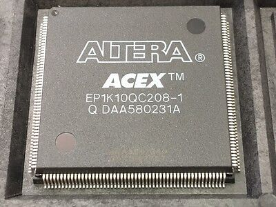 XILINX EP1K10QC208-1 Field Programmable Gate Array FPGA - ACEX 1K 72 LABs 120 IO
