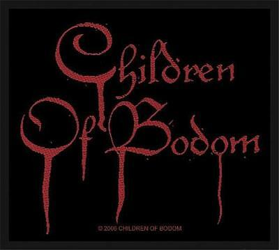 Official Licensed - Children Of Bodom - Blood Logo Sew On Patch Death Metal
