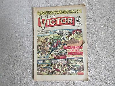 THE VICTOR COMIC No 96 - DEC 22ND 1962 - WAKENSHAW OF THE DURHAMS