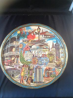 Vintage New Orleans Tin Tray