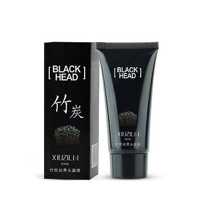 Black Mud Face Mask XIUZILM Blackhead Remover Deep Cleansing Peel Acne Treatment