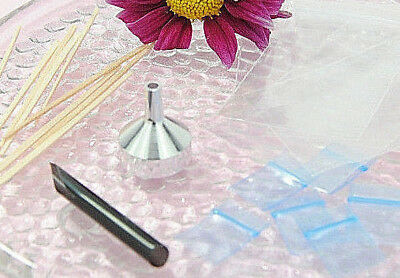 CREMATION URN FUNNEL FILL KIT for PENDANT NECKLACE JEWELRY SMALL FUNNEL MINI