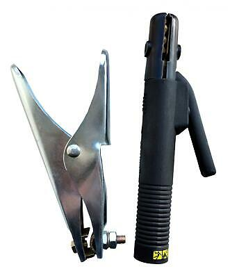 ARC MMA Welding Electrode Rod Holder and Earth Clamp 400 Amp Kit