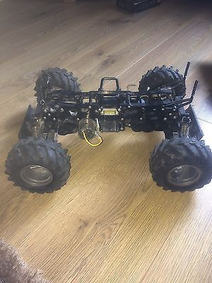 Tamiya Wild Dagger 4Wd Twin Motor 1/10 Scale Buggy Chassis