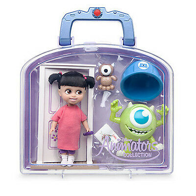 New Official Disney Monsters Inc Animators Collection Boo Mini Doll Playset