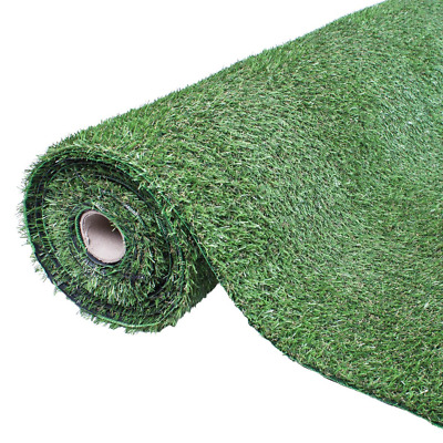 Hadley 15mm Artificial Grass Pile in 4m x 1m Roll - Realistic Garden Turf Lawn