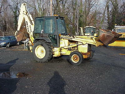 1993 Ford 555D Backhoe Loader 1 owner