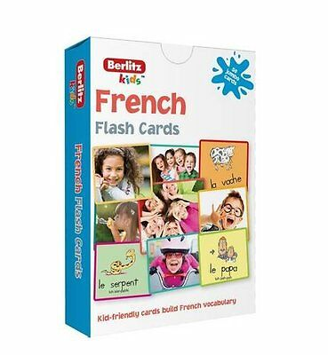 Berlitz Language: French Flash Cards (Berlitz Flashcards), Berlitz, New Book