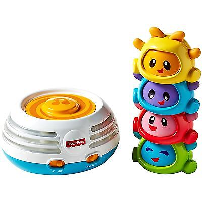 Fisher-Price Build-a-Beat Stacker Educational Fun Musical Toy Children Kids, 6m+