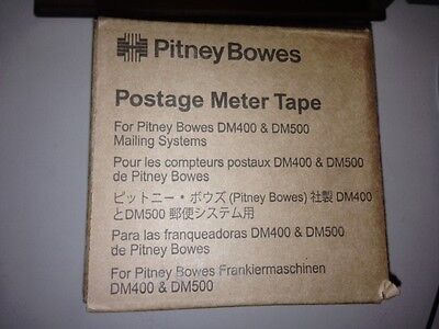 Pitney Bowes Postage Meter Tape 610-7 for DM 400 / 500 Lot 1 Box 3 Rolls NEW